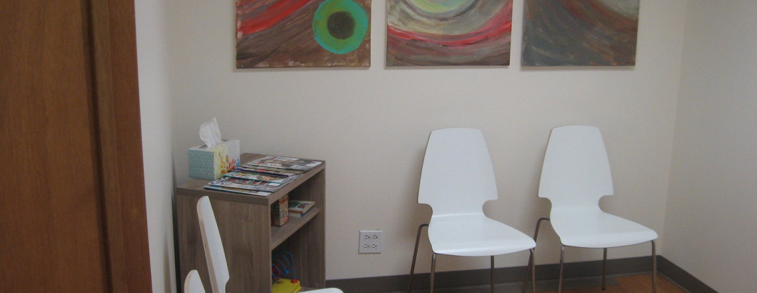 Image of office waiting room
